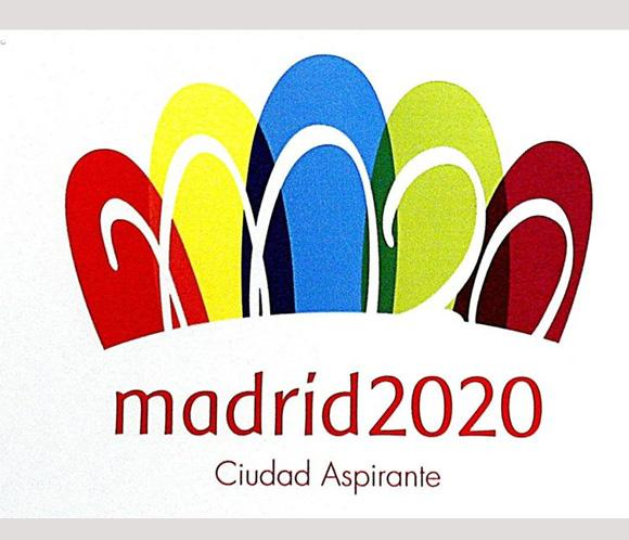 Logo olimpiada Madrid 2020
