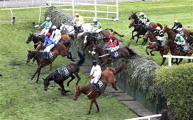 Grand National 2012. Foto de telegraph.co.uk