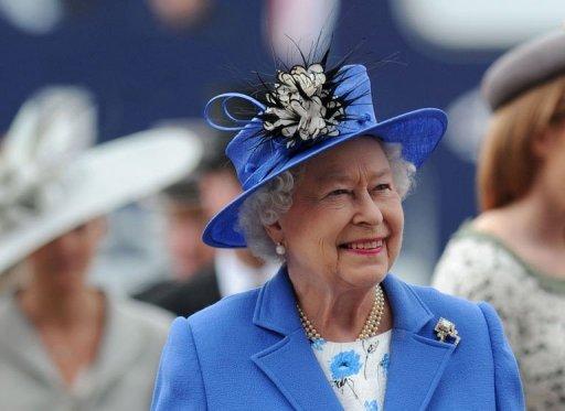 La Reina en el Derby de Epsom 2012. Foto de YAHOO