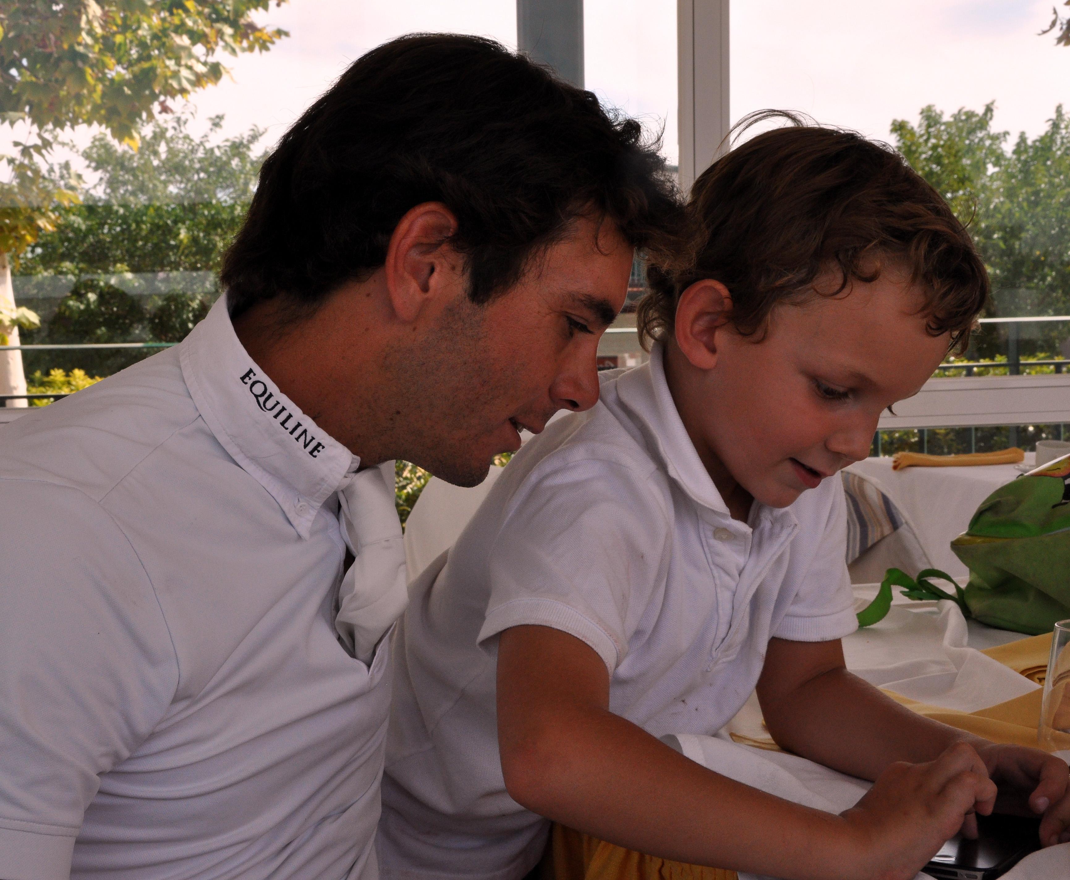 Eduardo Álvarez Aznar y Jacobo Maldonado Jr