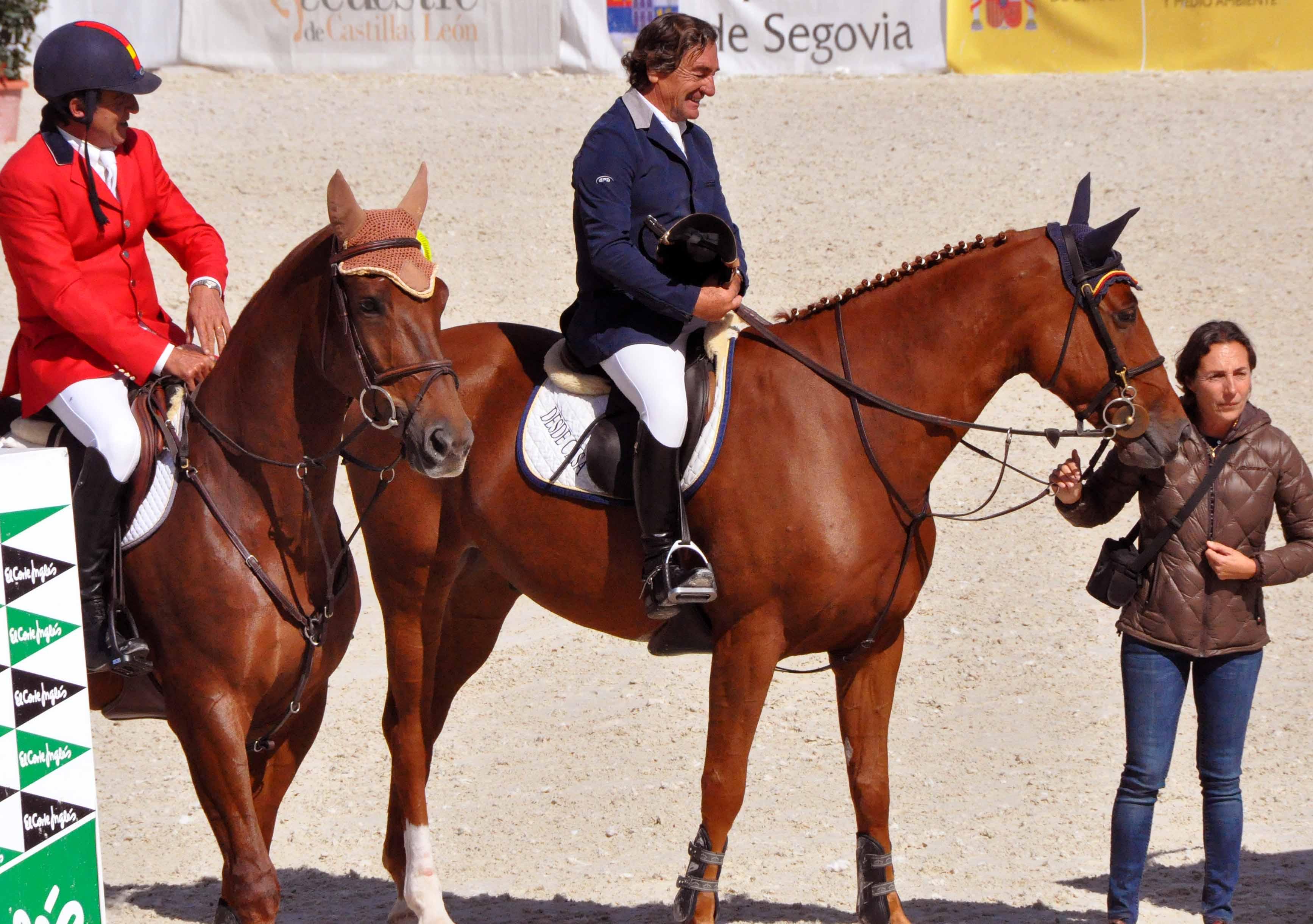 Alfredo Fernández Durán, Asís Arango y Alicia Daurella