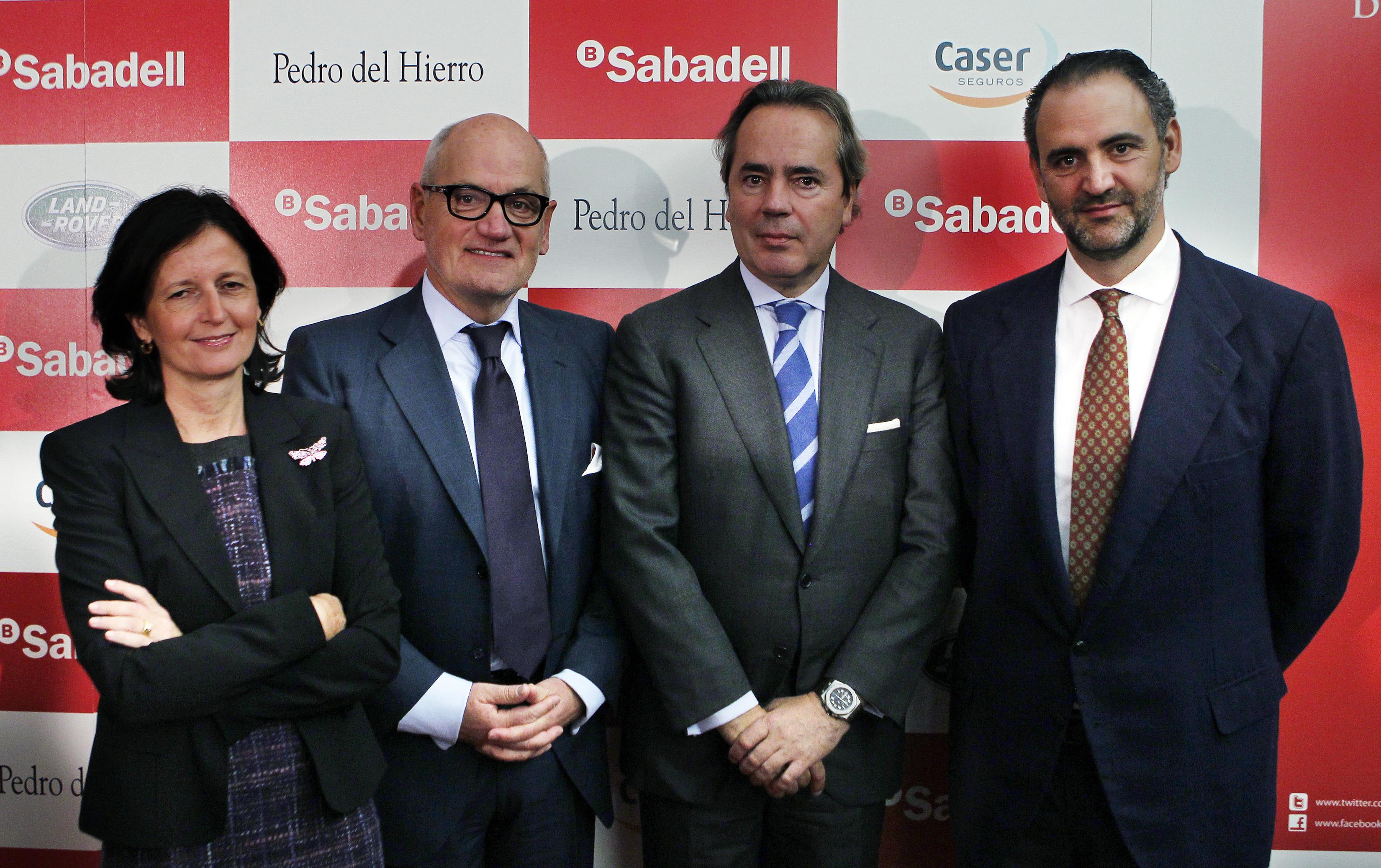 Blanca Montero, Carles Vilarrubi, Javier Revuelta y Daniel Entrecanales
