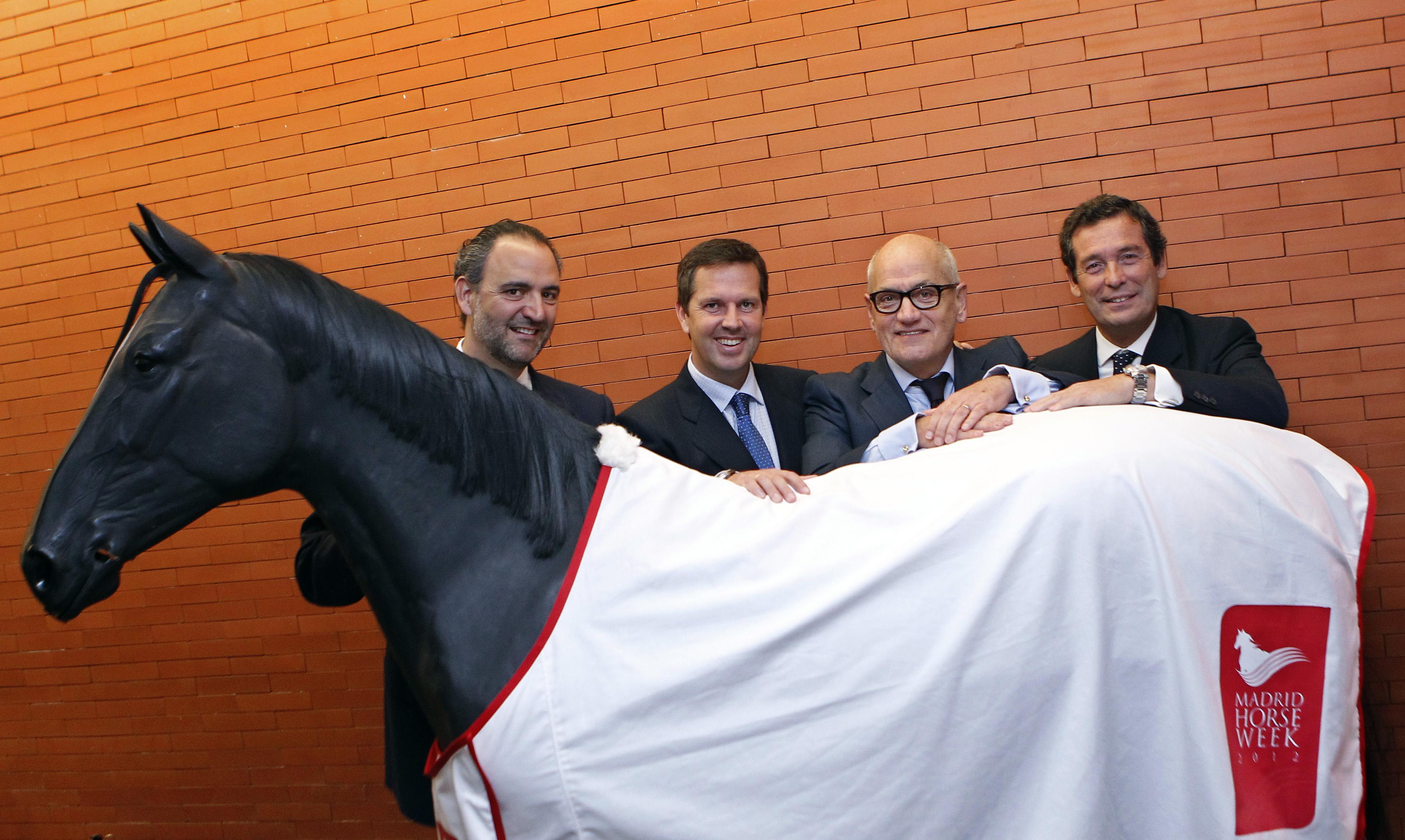 Daniel Entrecanales, José Marsa, Carles Vilarrubi y Luis Cabanas