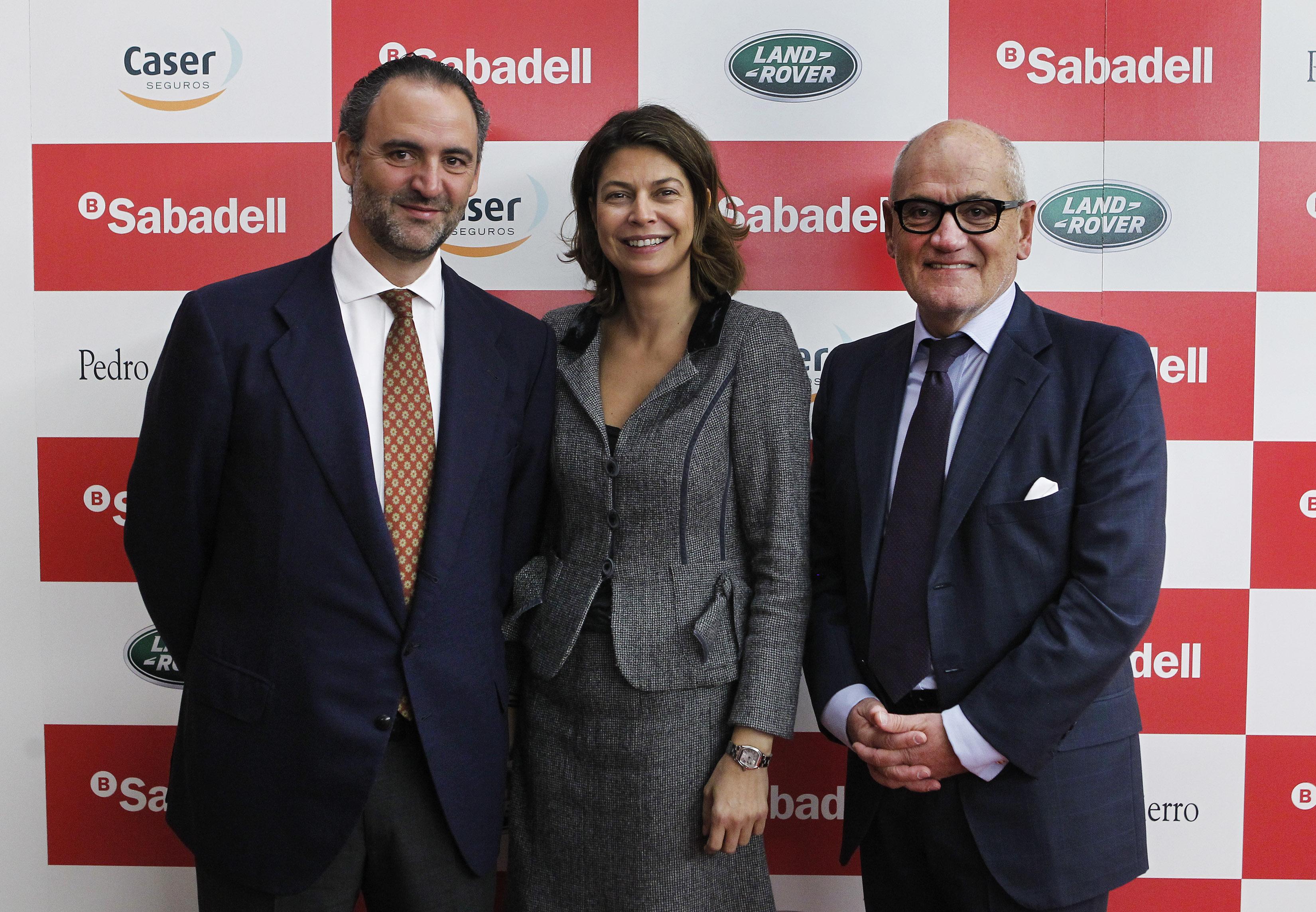 Daniel Entrecanales, Lucia Figar y Carles Vilarrubi