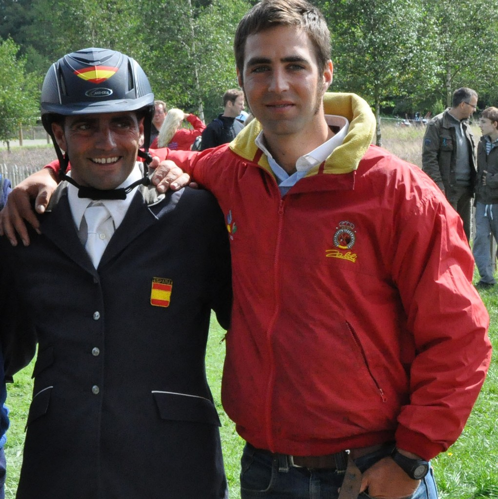 Albert Hermoso y Manuel Senra