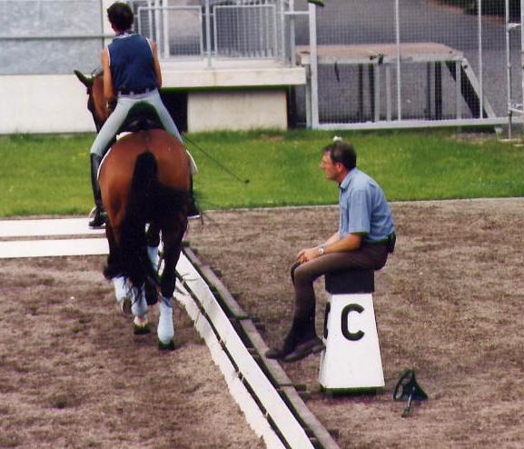 J. Bemelmans y B. Ferrer Salat en Aachen 2000