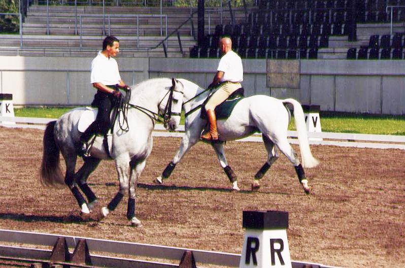 Luis Lucio y Enrique Sarasola