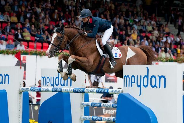 TOPINAMBOUR con P. Leprevost. Foto de Sport-Heute.CH