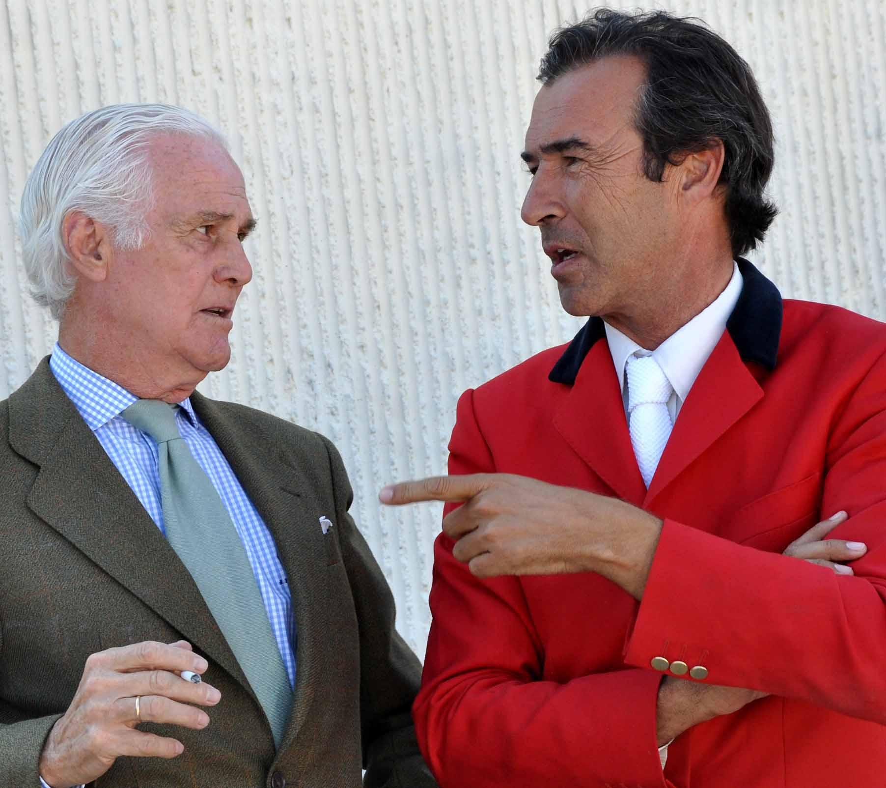 Jaime Rivera y Vicente Garrido
