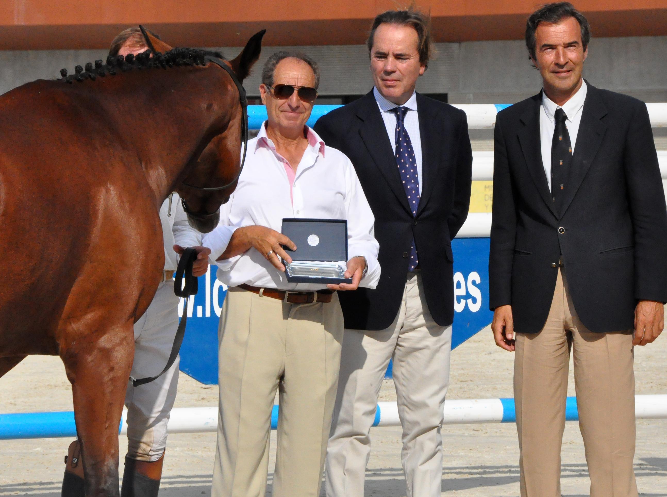 Vicente Verdejo, Javier Revuelta y Vicente Garrido.