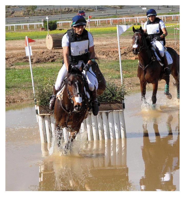 Albert Hermoso en el Gran Hipódromo de Andalucía