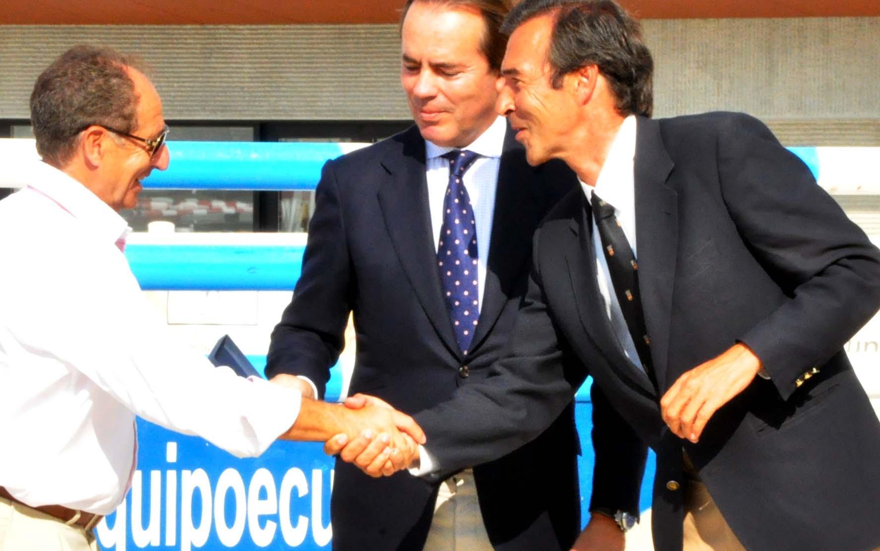 Vicente Verdejo, Javier Revuelta y Vicente Garrido