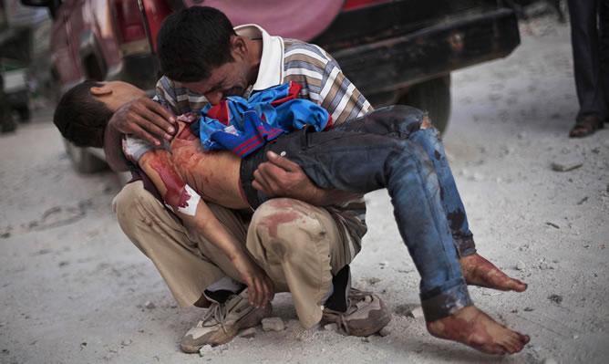 Foto de Manu Brabo de Siria
