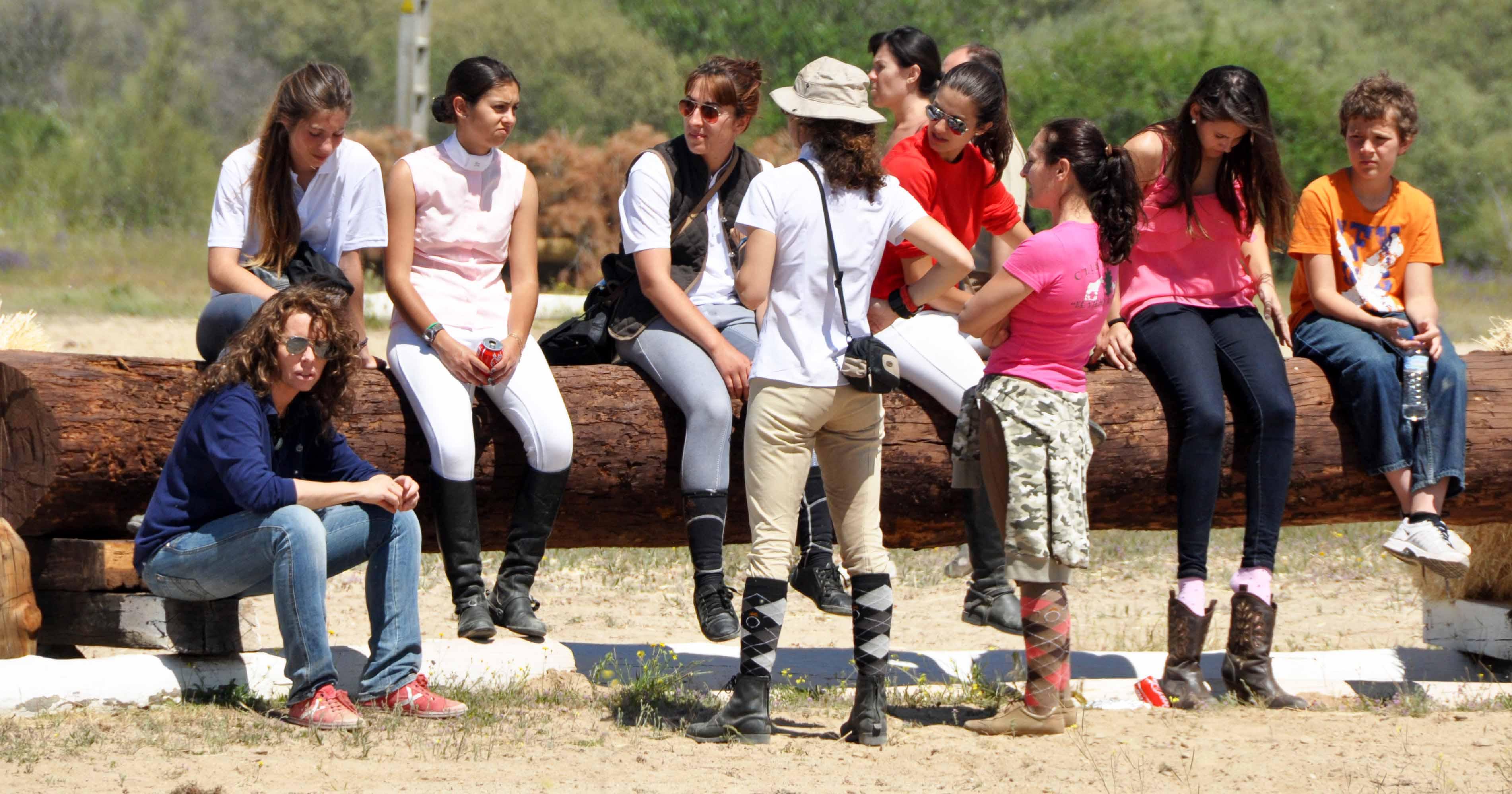 Aficionados españoles al completo en el cross de La Dehesa