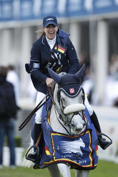 Laura Kraut con CEDRIC. Foto de Stefano Grasso para la Global Champions Tour