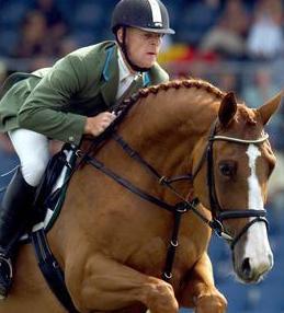 Marcus Ehning con ANKA. Foto de holsteiner-pferdemarkt.de de Rolf Vennenbernd