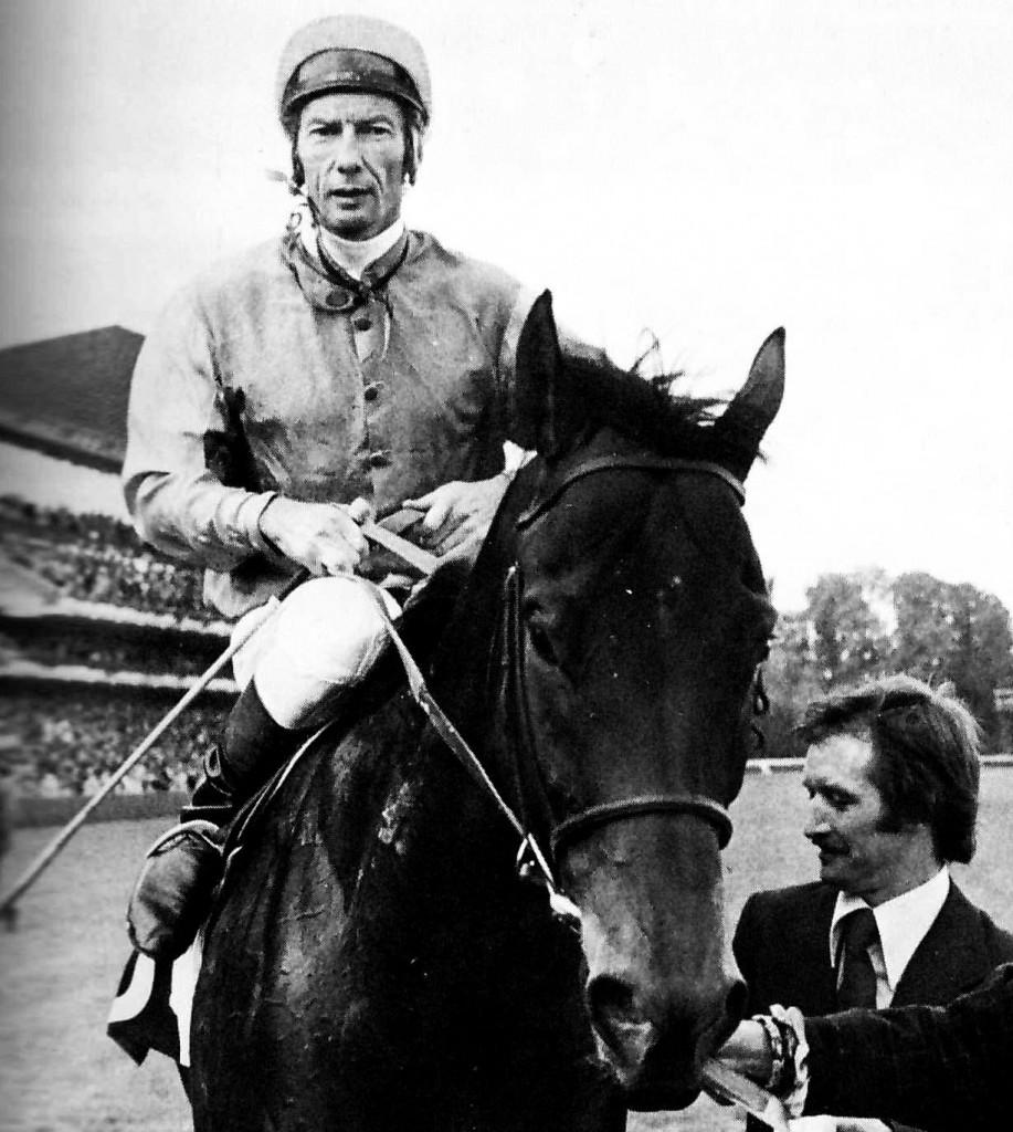 ALLEGED con L. Piggott (ganador del Arco en 1977 y 78)