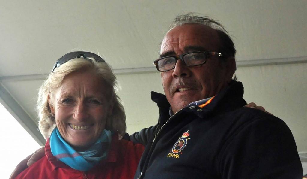 Lucinda Prior Palmer y José Manuel Pérez Arroyo