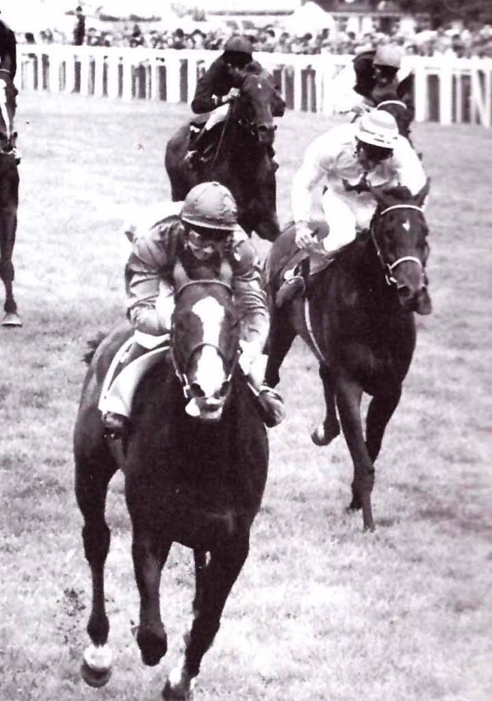 SHERGAR con W. Swinburn ganando el King Geoge VI y Queen Elizabeth