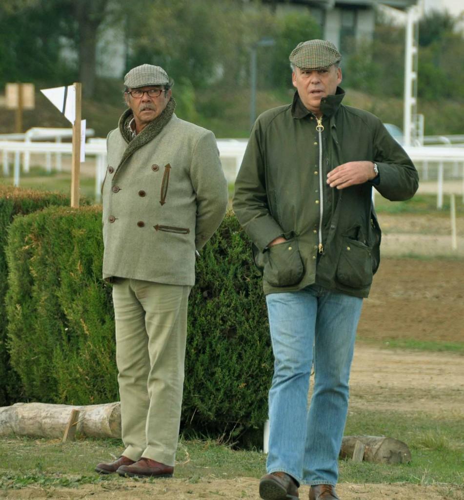 José Manuel Pérez Arroyo y Pedro Rey