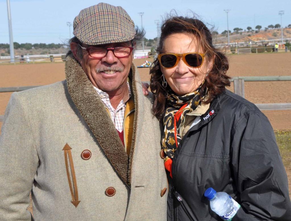 José Manuel Pérez Arroyo y Teresa Fontán