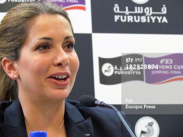 SAR La princesa Haya de Jordania. Foto de cotilleando.com