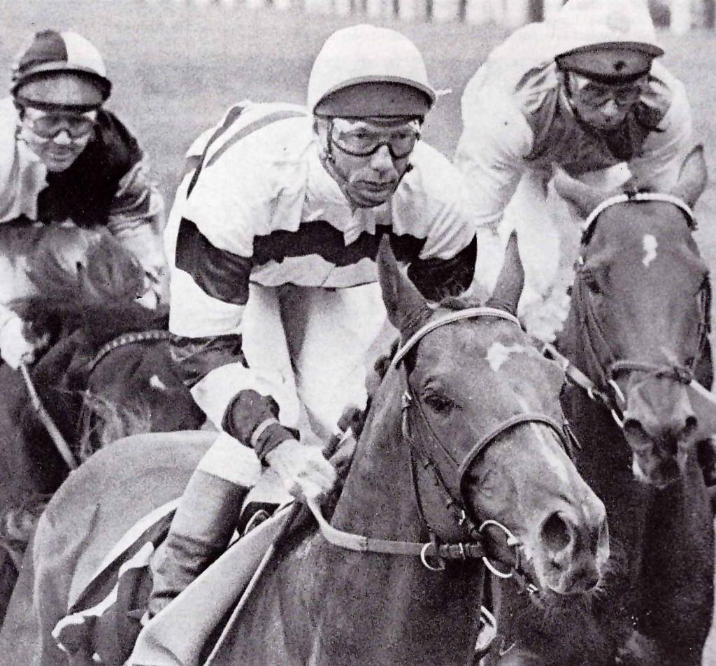 SAGARO con L. Piggott ganado el Royal Ascot