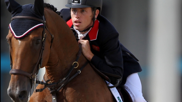 Scott Brash con HELLO SANCTOS. Foto de  Andrew Milligan