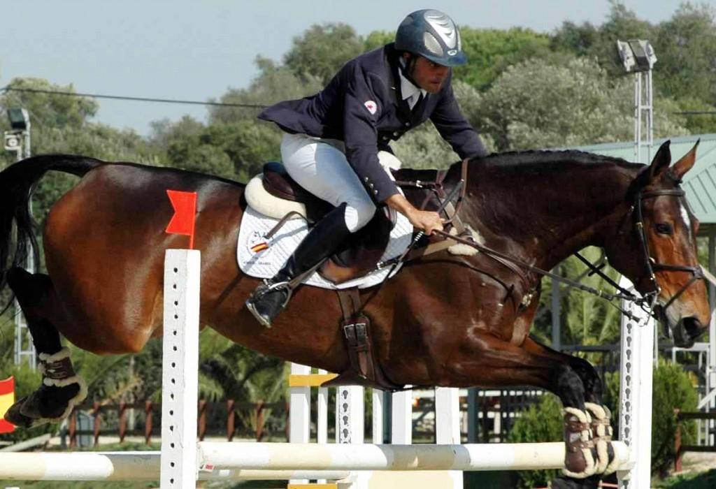 Albert Hermoso ya compitió muy bien con la angloárabe MELISSA DALARY en Barroca