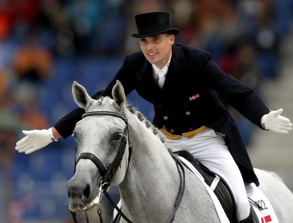 Andreas Helgstrand con MATINE. Foto de Heste-nettet.dk