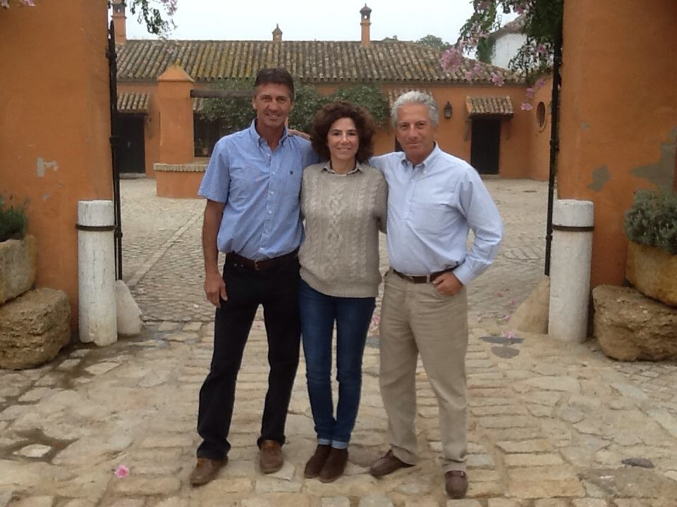 Andrew Nicholson, Ana y Ramón Beca