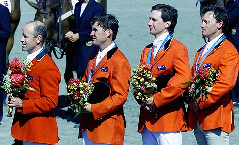 A. Hoy. P.Dutton, M. Ryan y S. Tinney. Foto de Palani Mohan