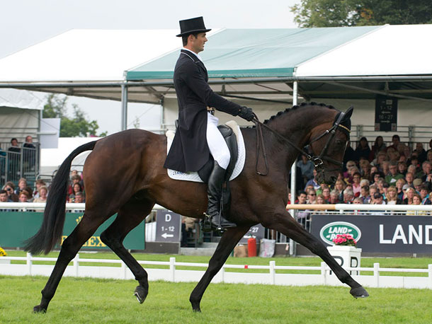 Jonathan Paget con CLIFTON PROMISE. Foto de Burghley Horse Trials
