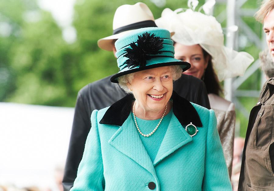 La Reina en el Royal Windsor. Foto de la web del concurso