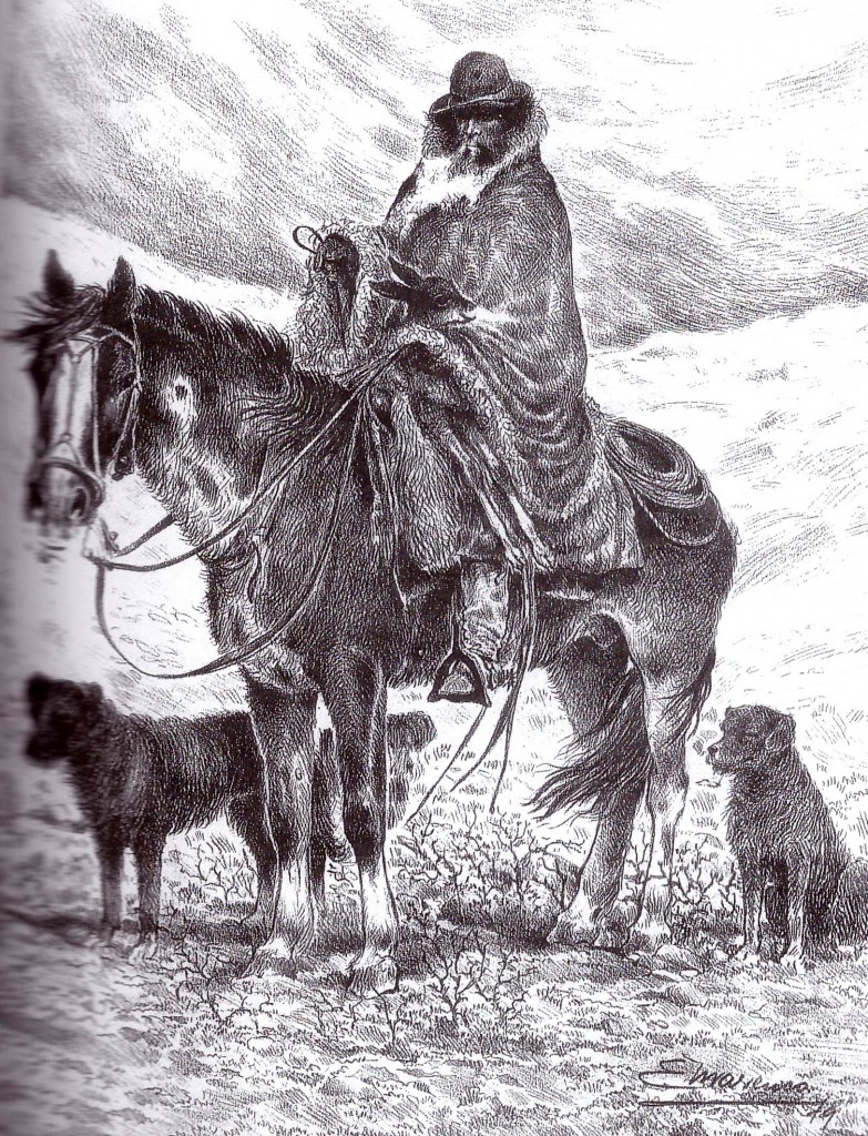 La Patagonia. El Chlenguito 1890