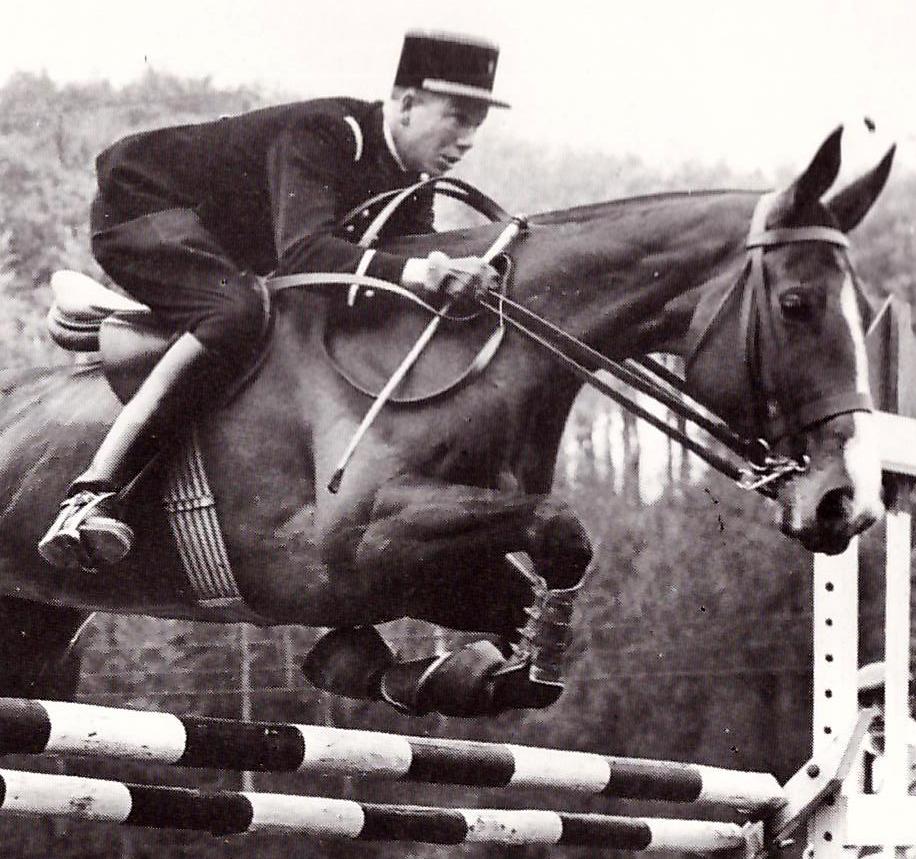 J. Le Goffcon IMAGE, con el que fue medalla de bronce en los JJ.OO de Roma. El francés fue el mayor impulsor del completo en Estados Unido