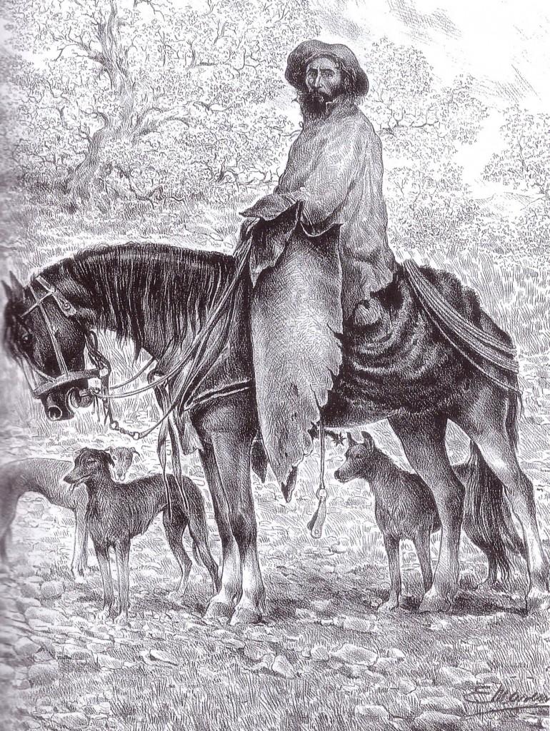 El Noroeste. El rastreador Mojotoro. 1890