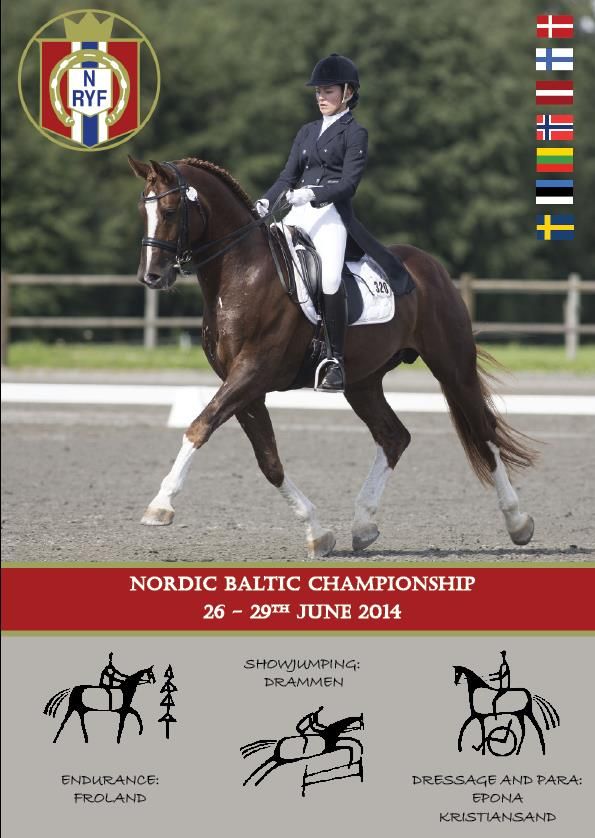 Poster Nordic Baltic Championship 2014