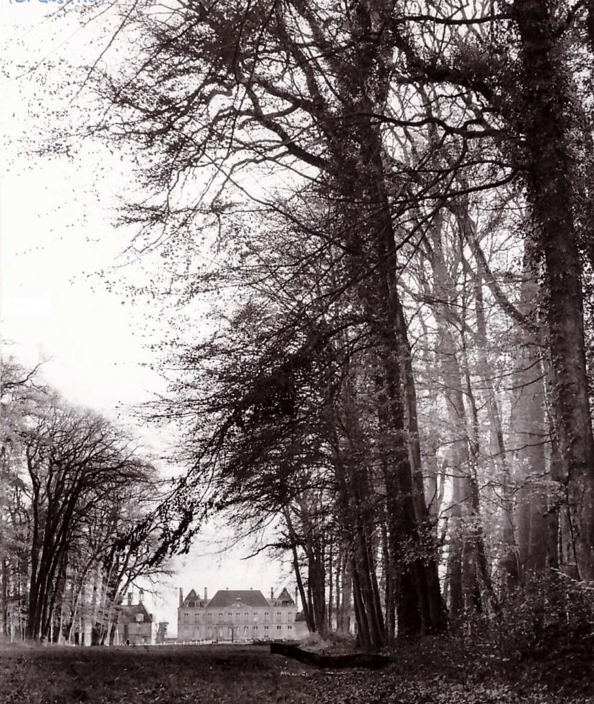 El Castillo del Haras du Pin. Foto del año 1969 cuando en la instalación normada tuvo lugar el Campeonato de Europa