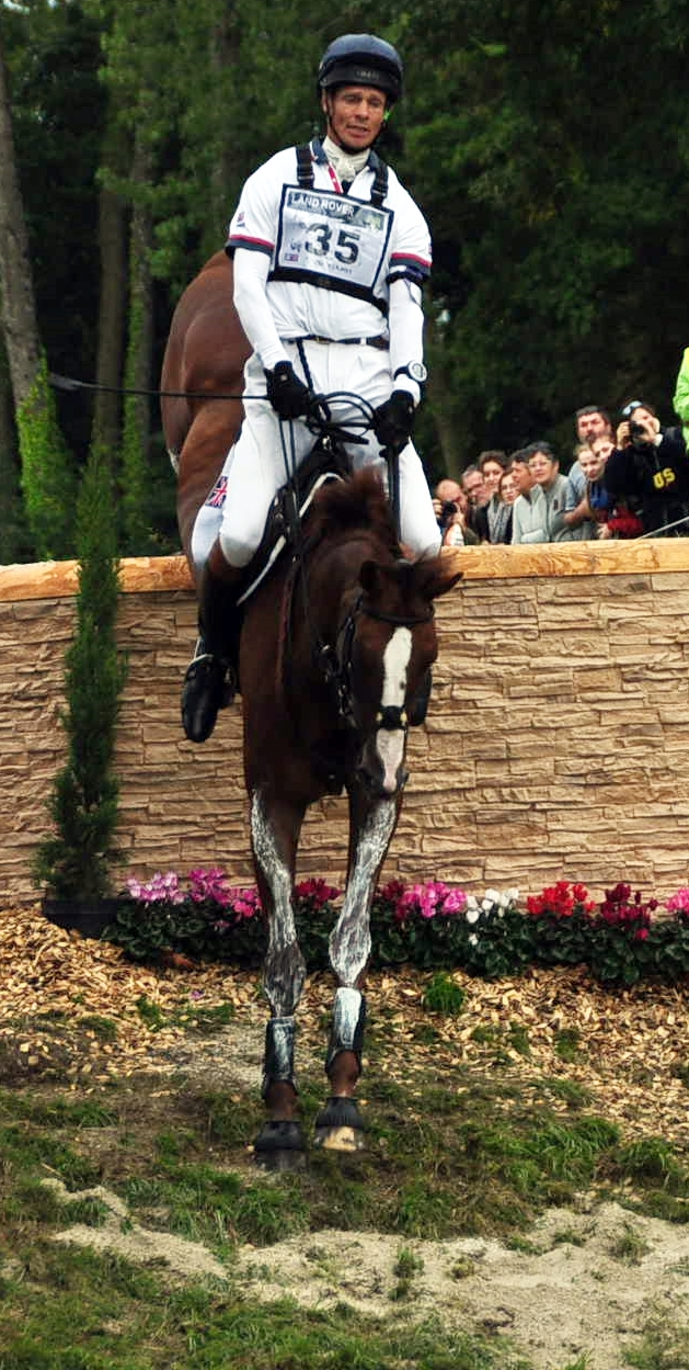 William Fox Pitt con CHILLI MORNING