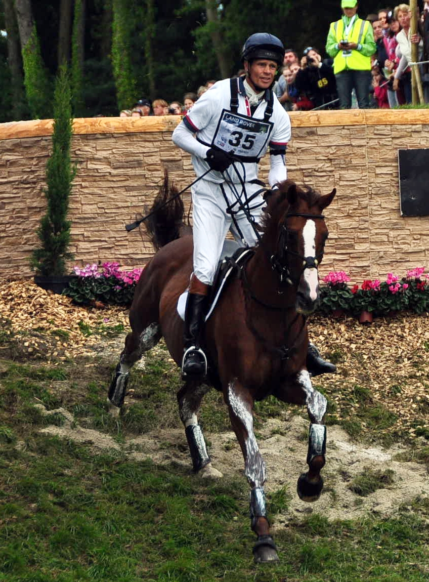 Willliam Fox Pitt con CHILI MORNING