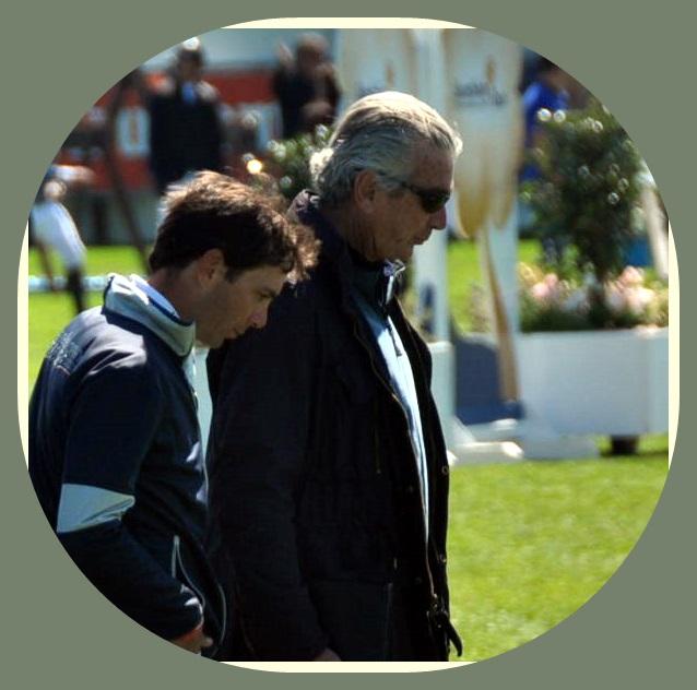 Eduardo Álvarez Aznar y su padre Luis Álvarez Cervera