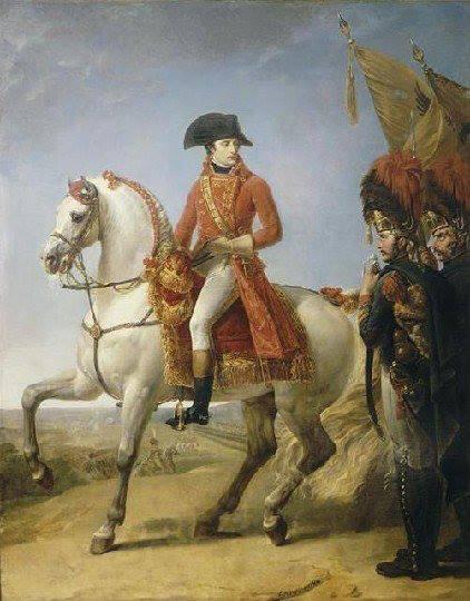 El caballo MARENGO con NAPOLEÓN