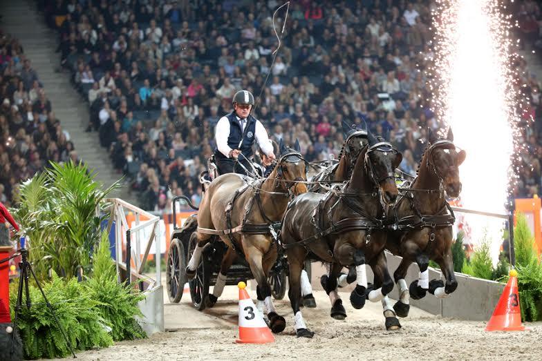 Boyd Exell. Friends Arena, Swedish International. Foto de Roland Thunholm