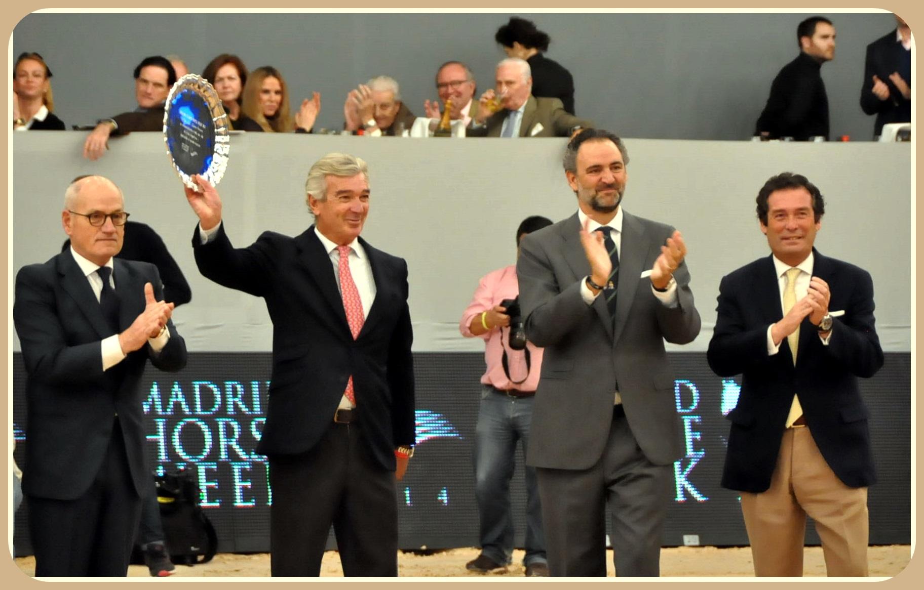 Cales Vilarubí, Luis Álvarez Cervera, Daniel Entrecanales y Luis Cabanas