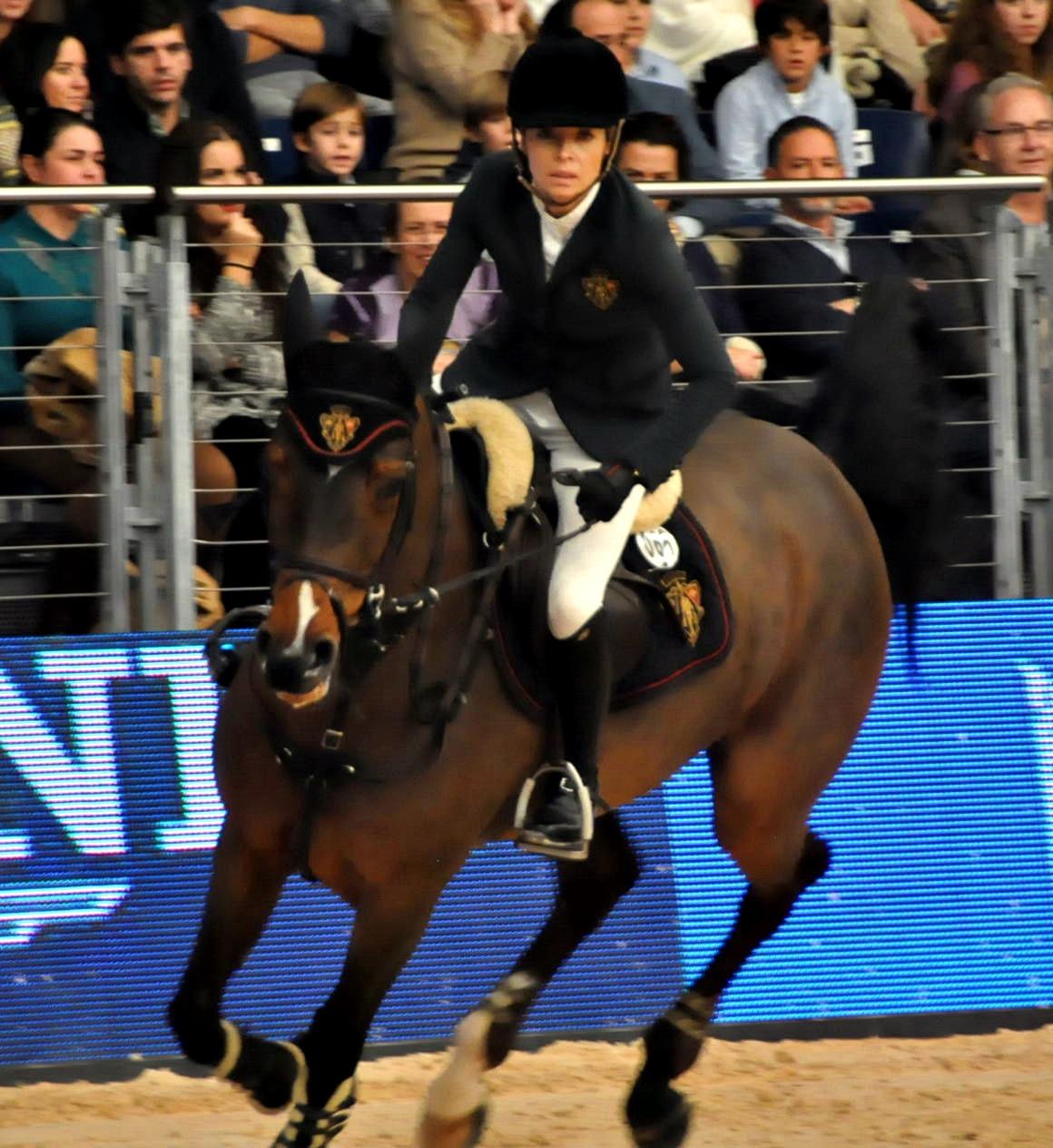 Edwina Alexander con LINTEA TEQUILA 2ª en el GP Copa del Mundo de salto del MHW