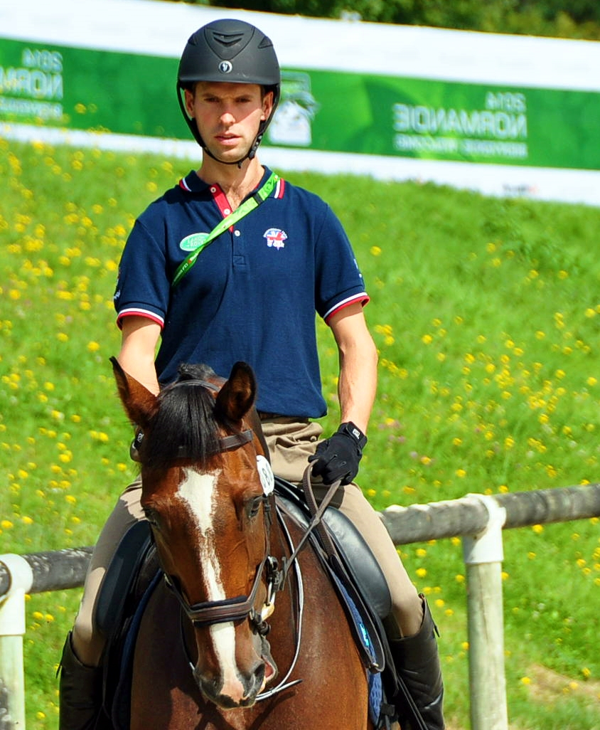 Harry Meade en los  JEM de Normandía 2014