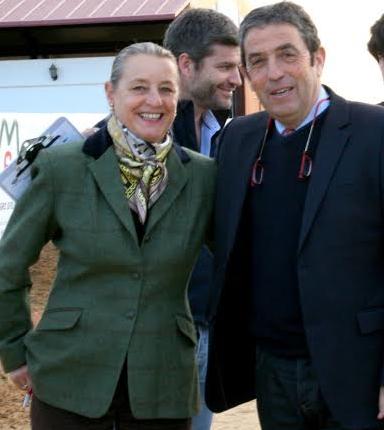 Alain James y Marie Christine Duroy