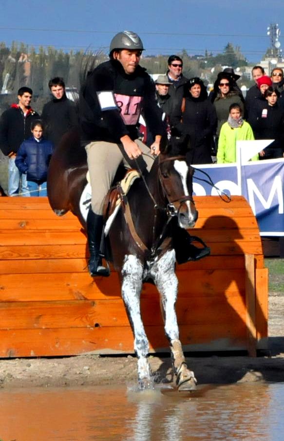 Carlos Bosch con LUMBRERA W  en el Campeonato de España 2014