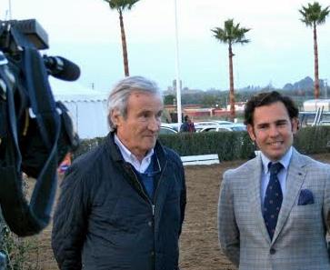 Pierre Michelet y Antonio Cejudo